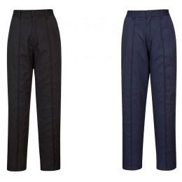Spodnie damskie z elastycznym pasem LW97