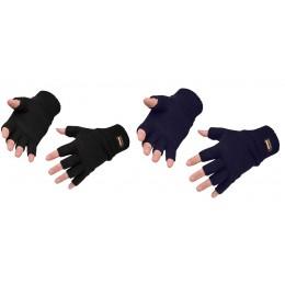 Rękawica dziana bez palców z Inslulatexem GL14