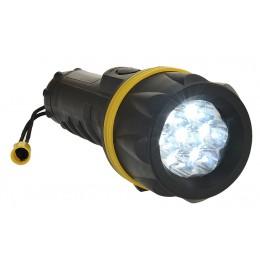 Latarka gumowa z 7 diodami LED PA60