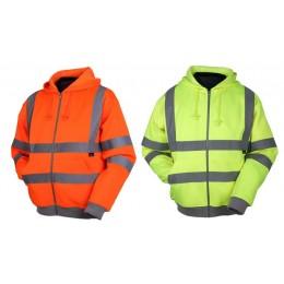 Bluza z kapturem ostrzegawcza o intensywnej widzialności VWFC14