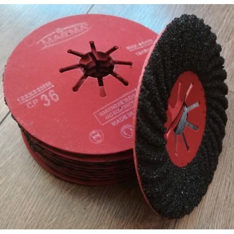 Tarcze dysk 125 do metalu fibrowe fibra