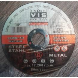 Tarcza do stali metalu 125x1,0 METAL PLATINIUM 5907580111636