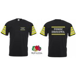 Tshirt koszulka POMOC DROGOWA Fruit Of The Loom 61044 cotton 100%