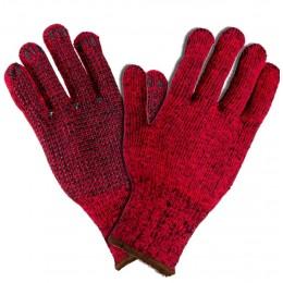 Rękawice 1021 ocieplane, dziane roz. 10