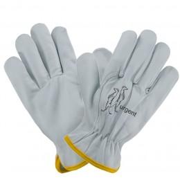 Rękawice 1204 z koziej skóry białe