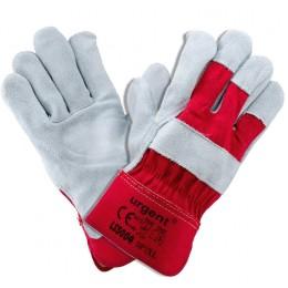 Rękawica skórzana LS 5004 czerwona ROZ. 10