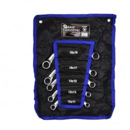 Kpl. kluczy oczkowych typu C do alternatorów 5el. 10-19mm GEKO