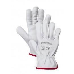 Rękawice robocze kozia skóra licowa HAND FLEX HF/DG01