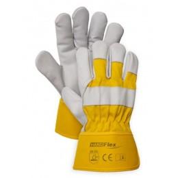 Rękawica wzmocniona skórą licową roz. 10 HAND FLEX DI-1052 B
