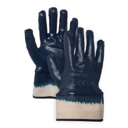 Rękawice nitrylowe z mankietem GNF+JS HAND FLEX roz. 10