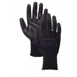 Rękawice powlekane poliuretanem black HAND FLEX