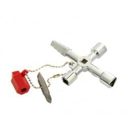 Uniwersalny klucz do szafek technicznych GEKO G10049