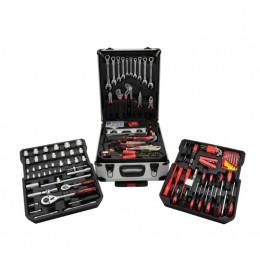 Walizka narzędziowa z wyposażeniem 187el.( klucze p-o) GEKO G10855