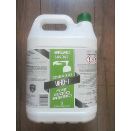 Preparat do szybkiej dezynfekcji powierzchni 5 L Biosol RP Forte 1 PROFI PLUS