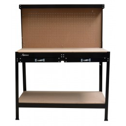 Stół warsztatowy 2 szuflady GEKO G10870