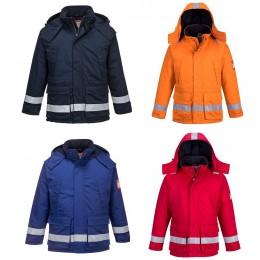 Trudnopalna i antystatyczna kurtka zimowa FR59