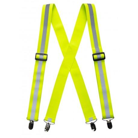 Szelki do spodni w kolorze ostrzegawczym HV56