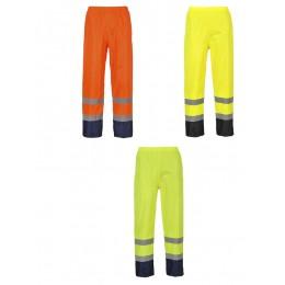 Klasyczne spodnie przeciwdeszczowe, ostrzegawcze i kontrastowe H444