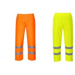 Spodnie ostrzegawcze przeciwdeszczowe H441