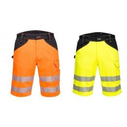 Krótkie spodnie ostrzegawcze PW3 PW348