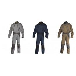 Kombinezon roboczy mach2 corporate z poliestru i bawełny -dwa zamki MCCDZ