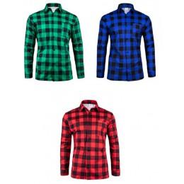 Koszula flanelowa 190g/m2 100% bawełna